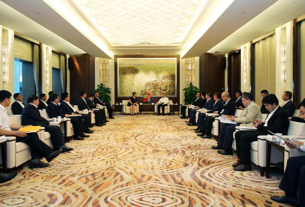 黑龙江省省商务厅_黑龙江省商务厅孟祥君厅长,省政府有关部门和相关地市领导,集团